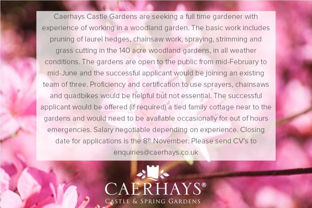 Gardener Advert