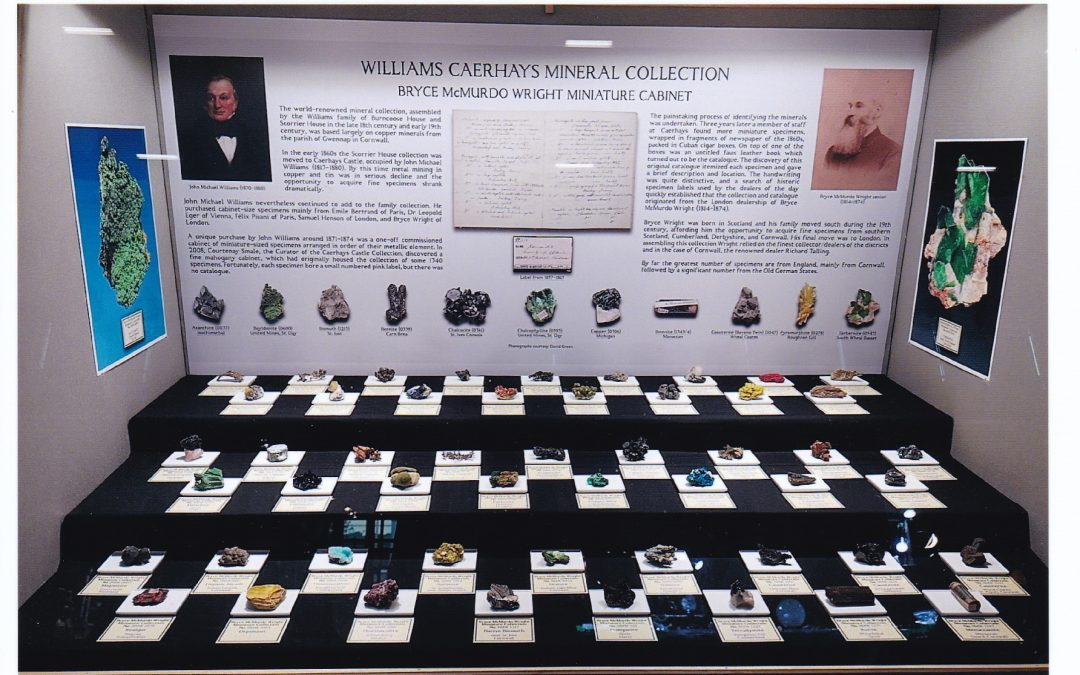 Mineral Collection at Munich Show