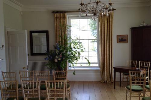 Dining room wedding